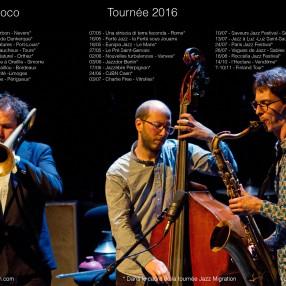 Un Poco Loco Tournée 2016